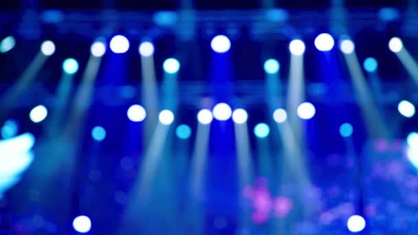 Stage with lights. Background lighting. Concert light.