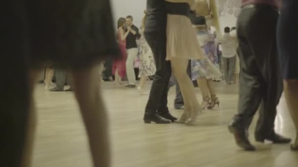 People dancers dance tango. Kyiv. Ukraine