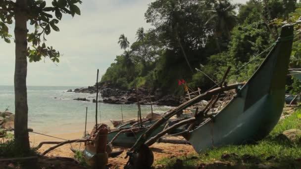 Sri Lanka ocean seascape sea shore. Landscape.