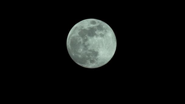 Blázen Měsíc 4k Uhd zblízka. Planeta satelit.