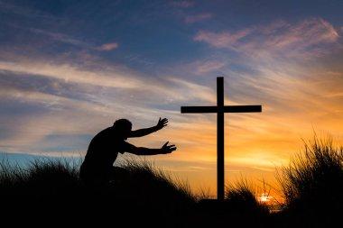 Reach for Salvation Cross