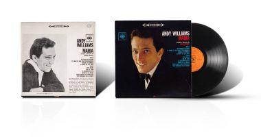 Old used vinyl album Andy Williams Maria