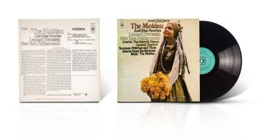 Old used vinyl album The Moldau and other favorites