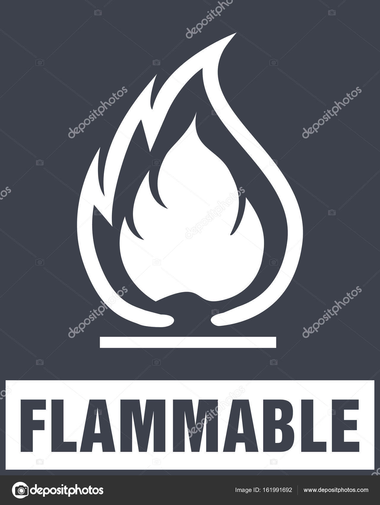 Flammable symbol fire icon packaging symbol for delivery of ca flammable symbol fire icon packaging symbol for delivery of ca stock vector buycottarizona Image collections