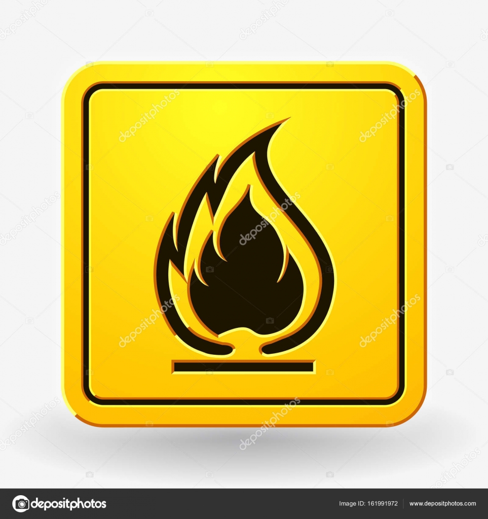 Flammable symbol fire icon packaging symbol for delivery of ca flammable symbol fire icon packaging symbol for delivery of ca stock vector biocorpaavc