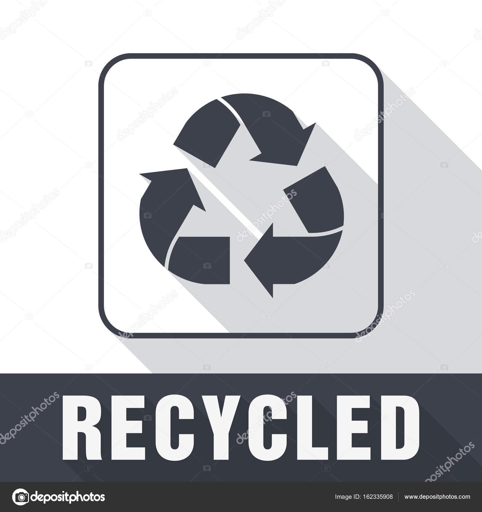 Simbolo De Reciclado E Embalagens Cadastre Se Para A Carga