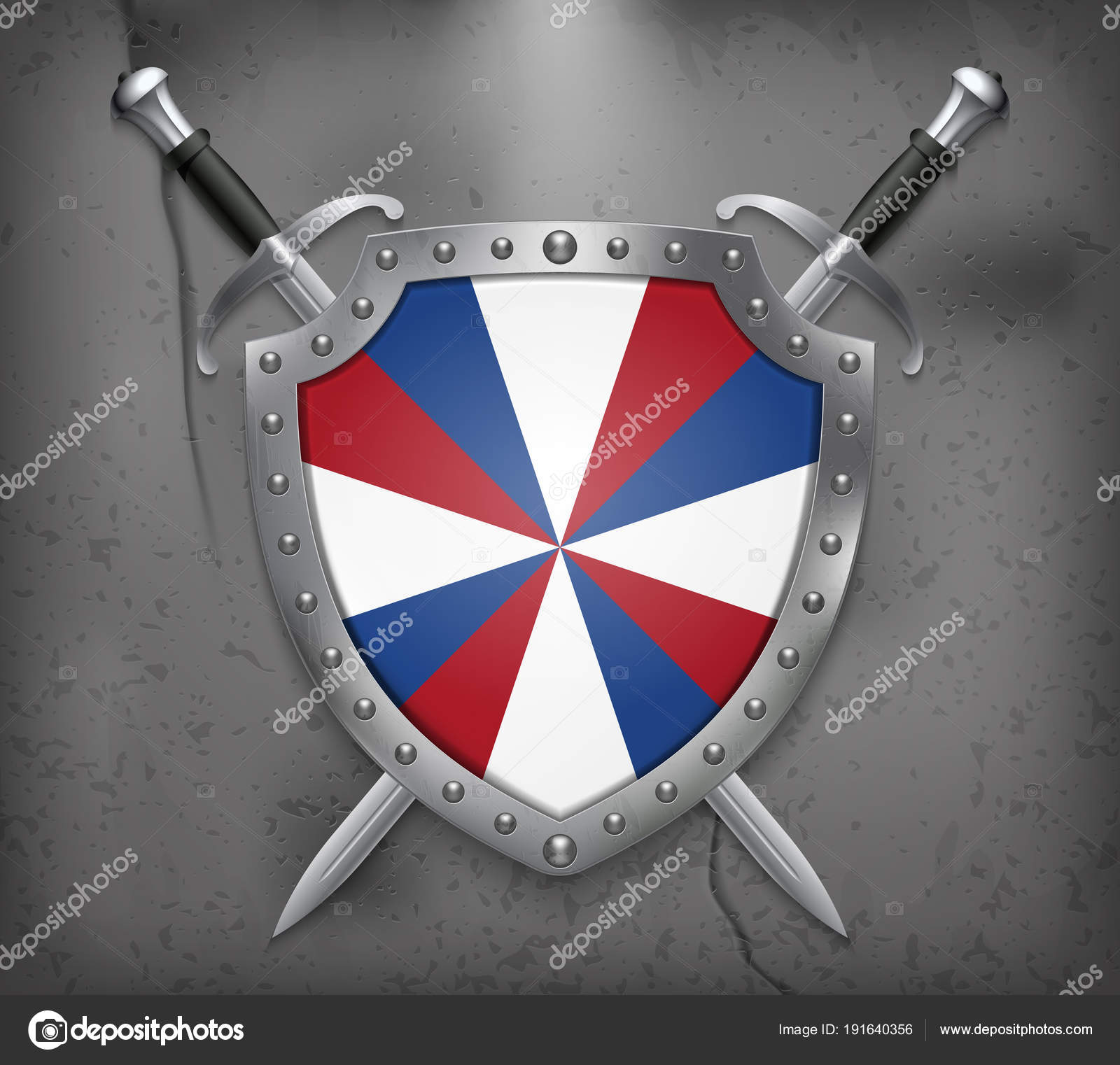 Dutch Flag The Prinsengeus The Shield With National Flag Two C