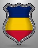 Fényképek Románia zászlaja. Vektor jelvény és ikon