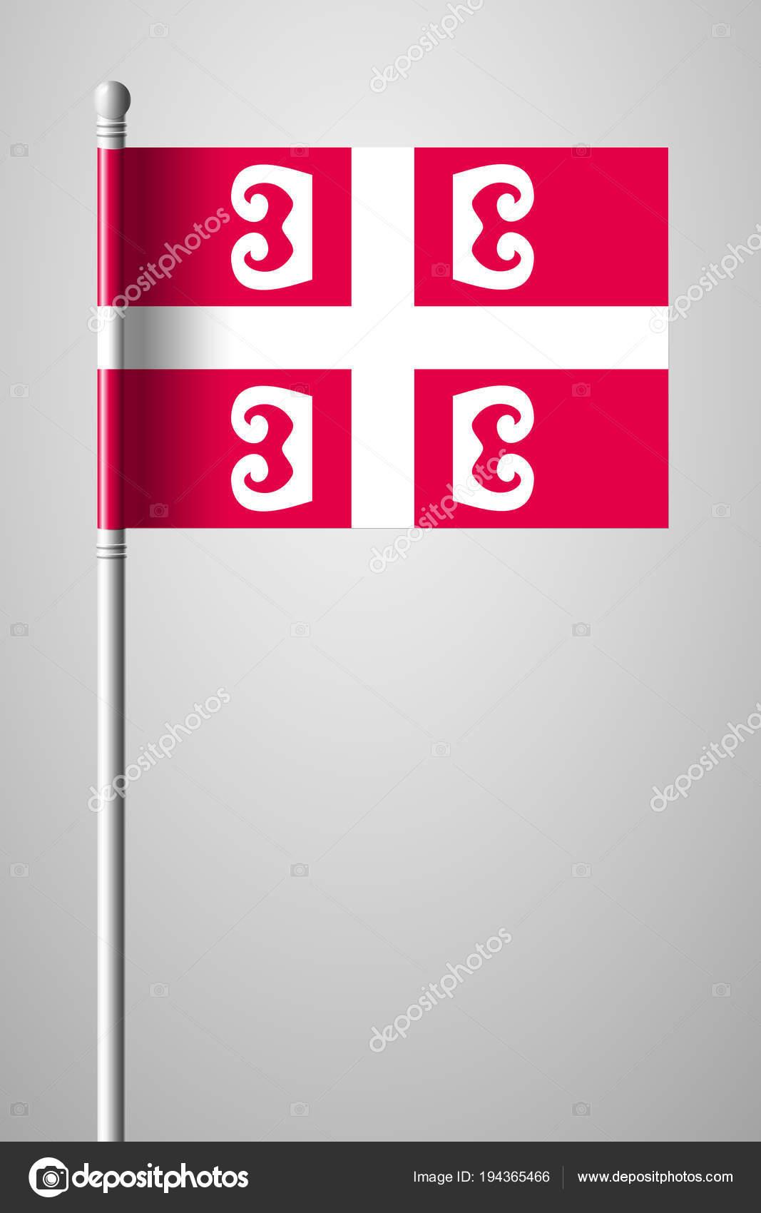 grattis på födelsedagen serbiska Serbiska Cross. Nationell Symbol för Serbien. Flagga på Flagp  grattis på födelsedagen serbiska