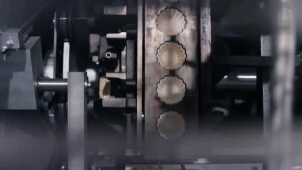 vybavení s punčošem a zápustkami peče vaflovací koše