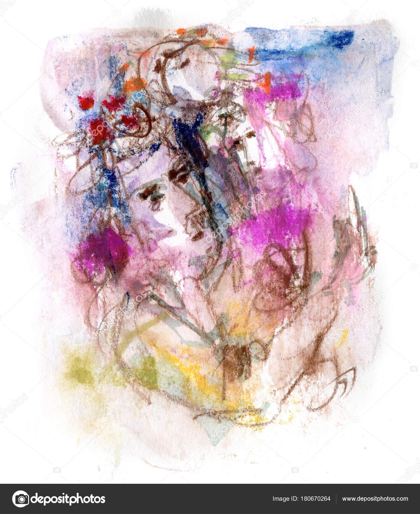 男と女芸術的なイラスト ストック写真 Kvocek 180670264