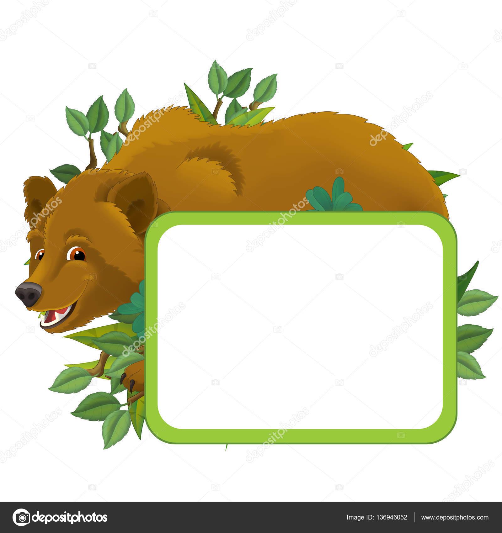 Cartoon-Rahmen mit Tier — Stockfoto © agaes8080 #136946052