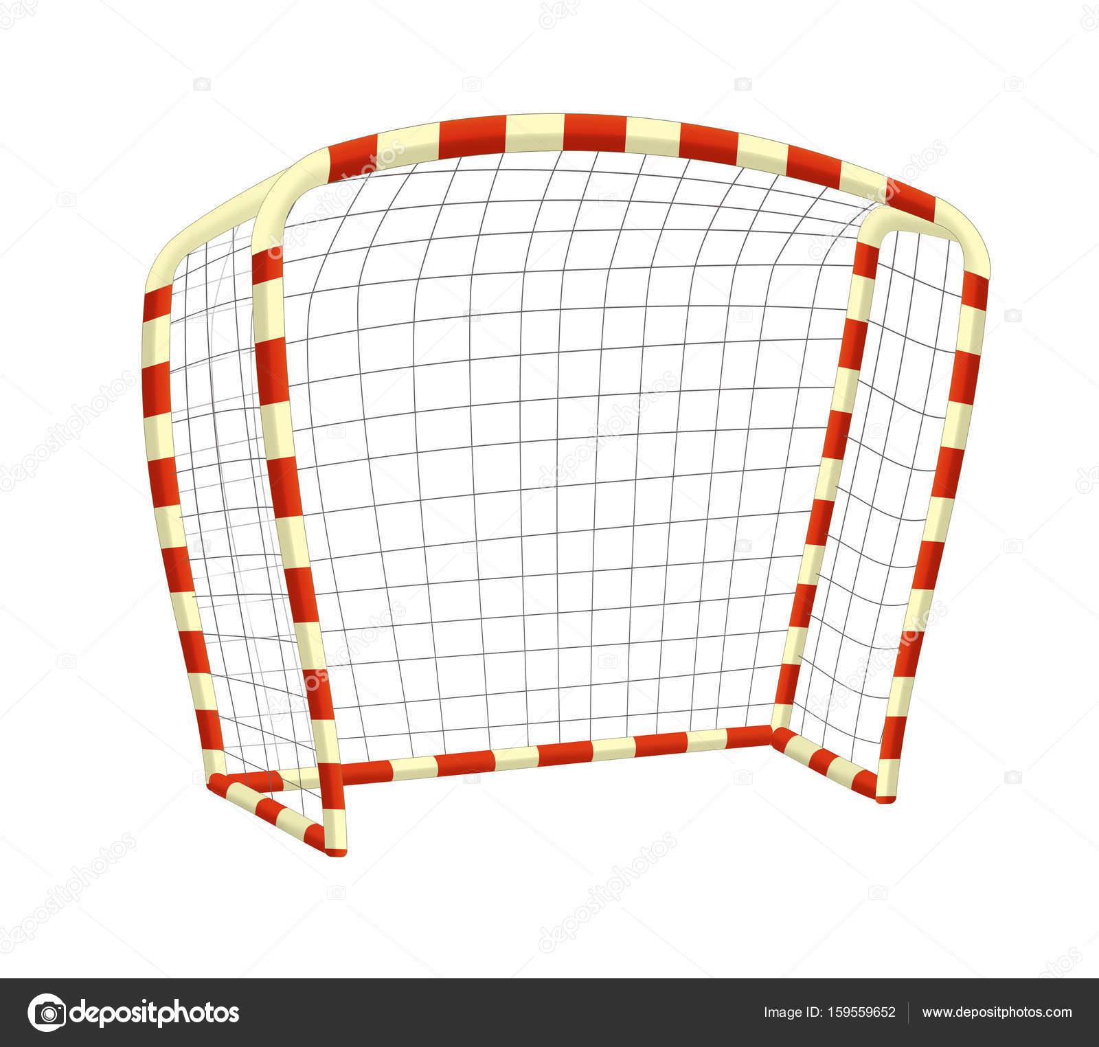 Clipart: football goal | Cartoon football goal — Stock Photo