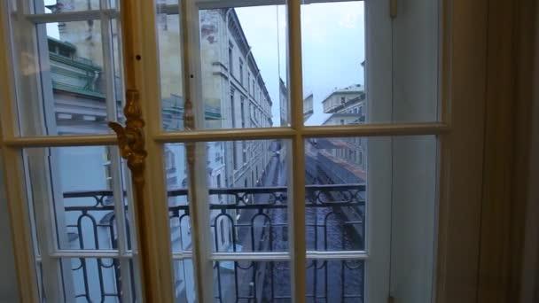 Pohled na kanálu od Hermitage windows