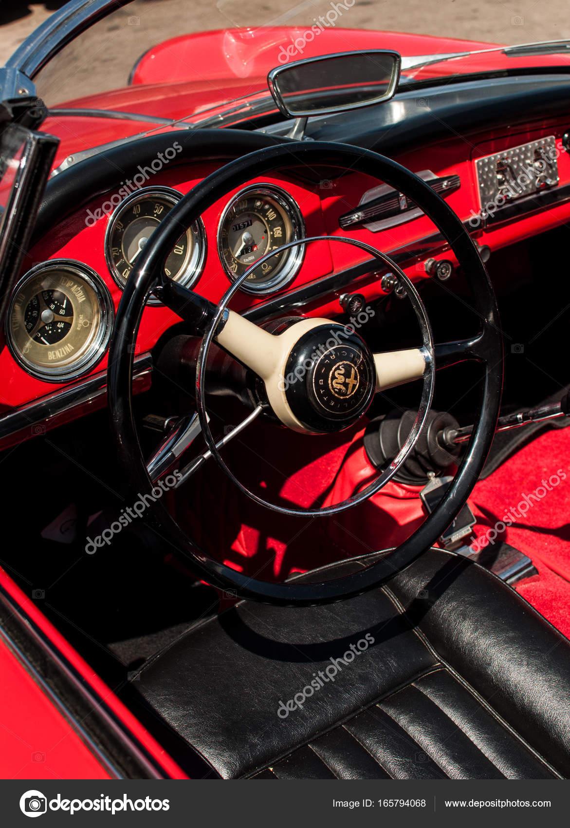 Alfa Romeo Giulietta Spider 1600 1964 Zdjęcie stockowe editorial