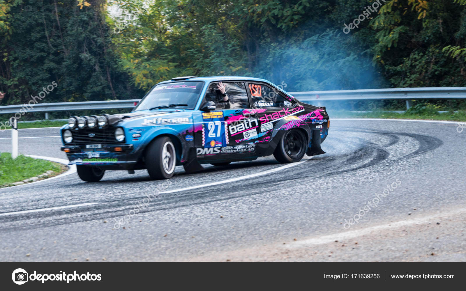 FORD ESCORT RS old racing car rally – Stock Editorial Photo ...