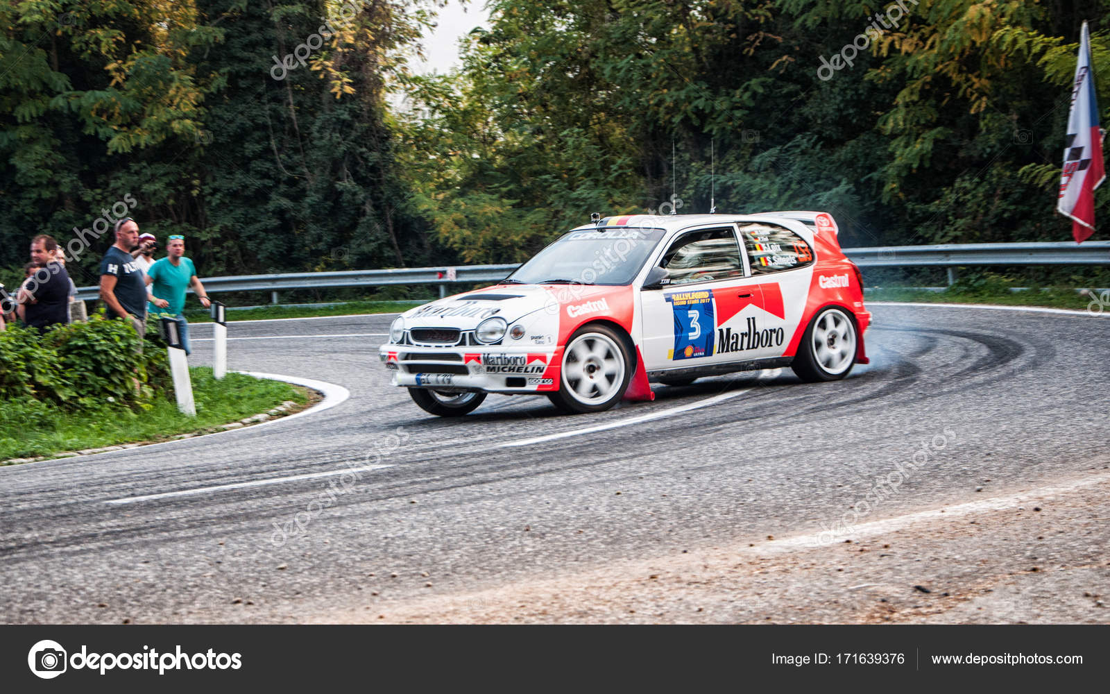 TOYOTA COROLLA WRC old racing car rally – Stock Editorial Photo ...