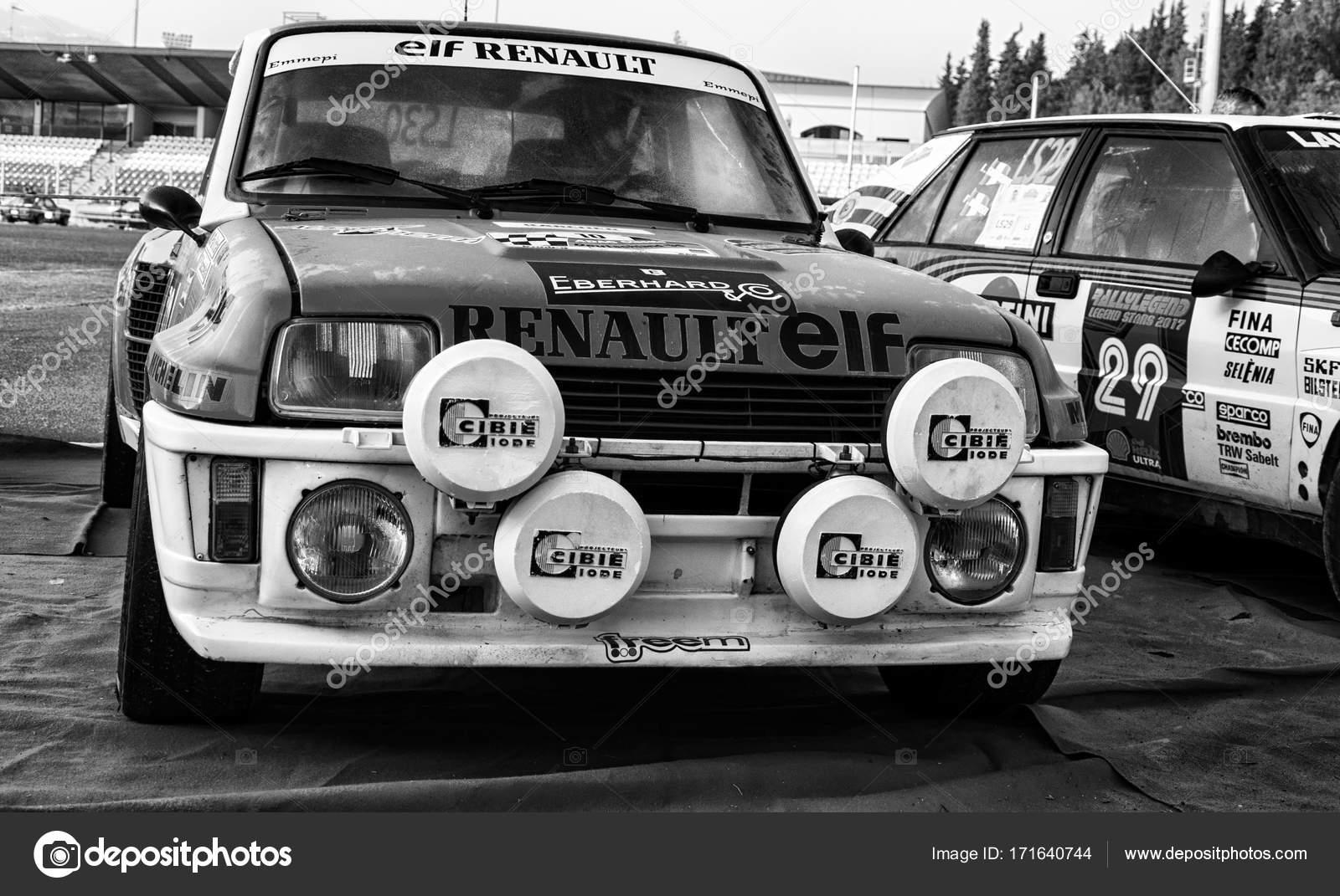 Renault 5 Gt Turbo 1982 Old Racing Car Rally Stock Editorial Photo C Massimocampa 171640744
