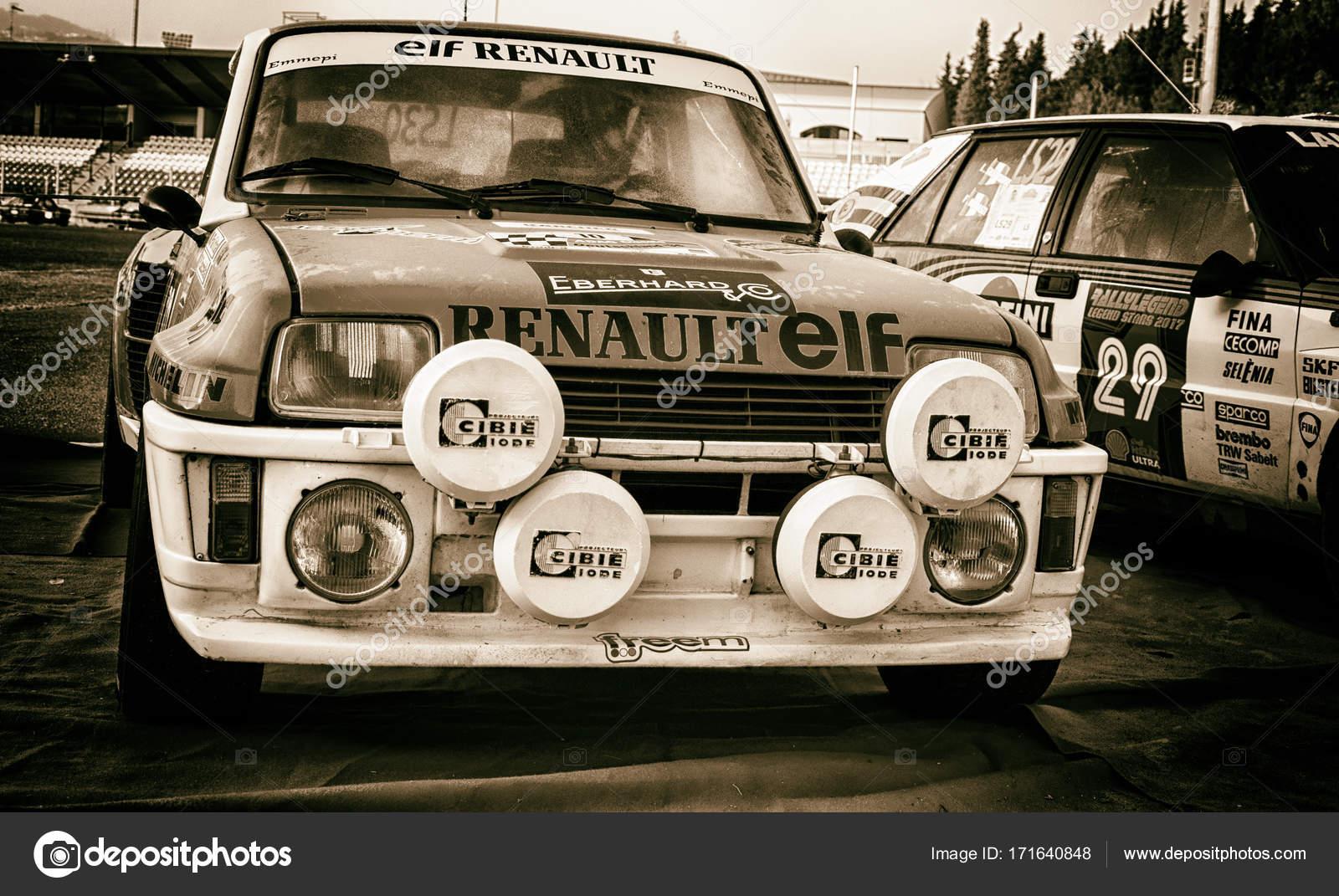 Renault 5 Gt Turbo 1982 Old Racing Car Rally Stock Editorial Photo C Massimocampa 171640848