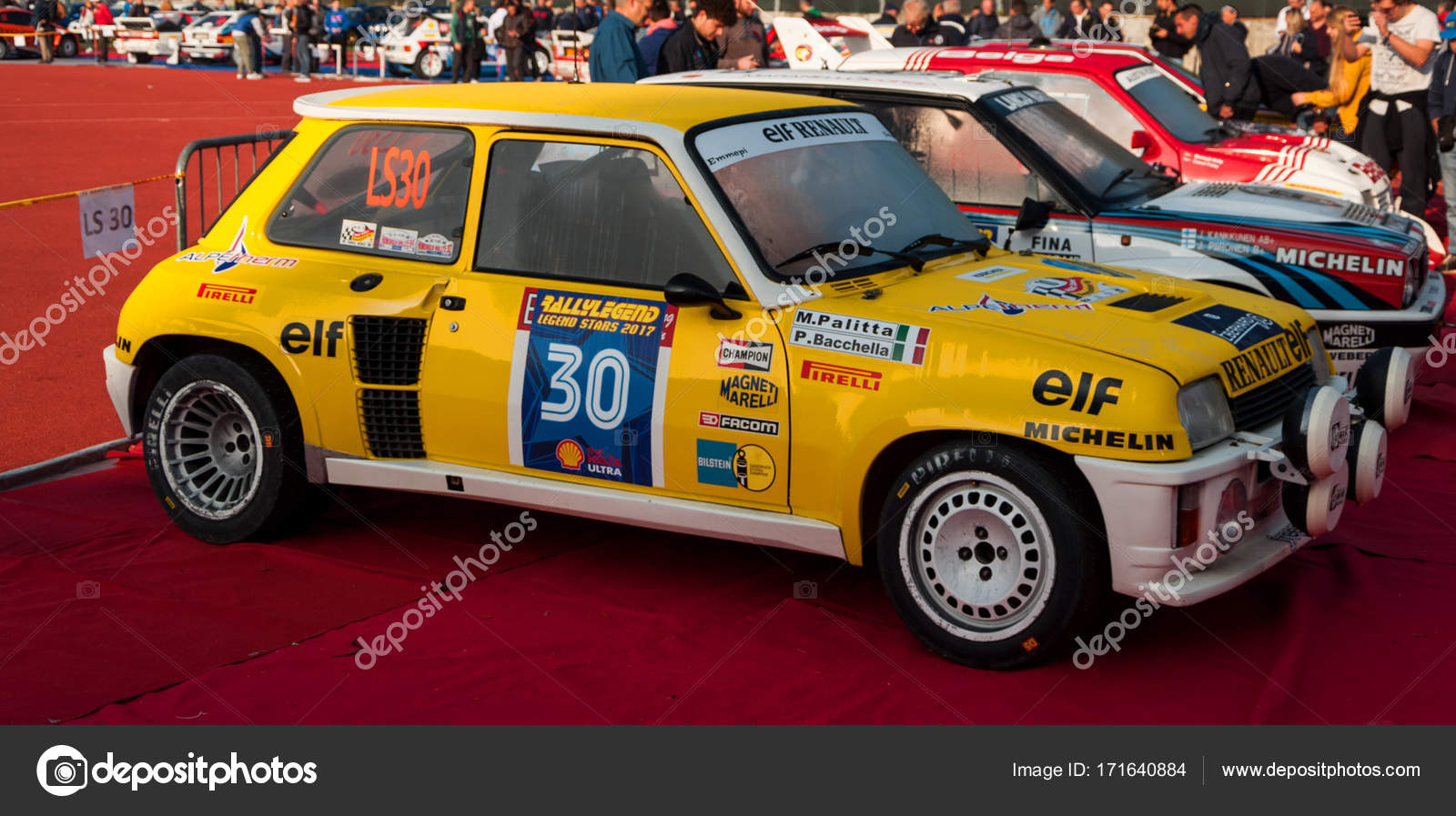 RENAULT 5 GT TURBO 1982 old racing car rally – Stock Editorial Photo ...