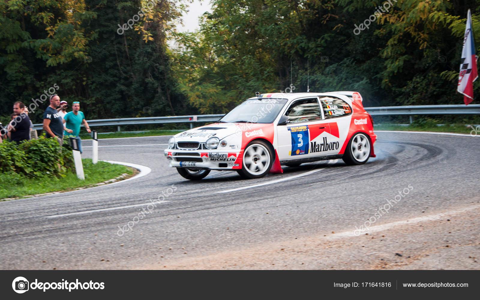 TOYOTA COROLLA WRC old racing car rally – Stock Editorial Photo ...