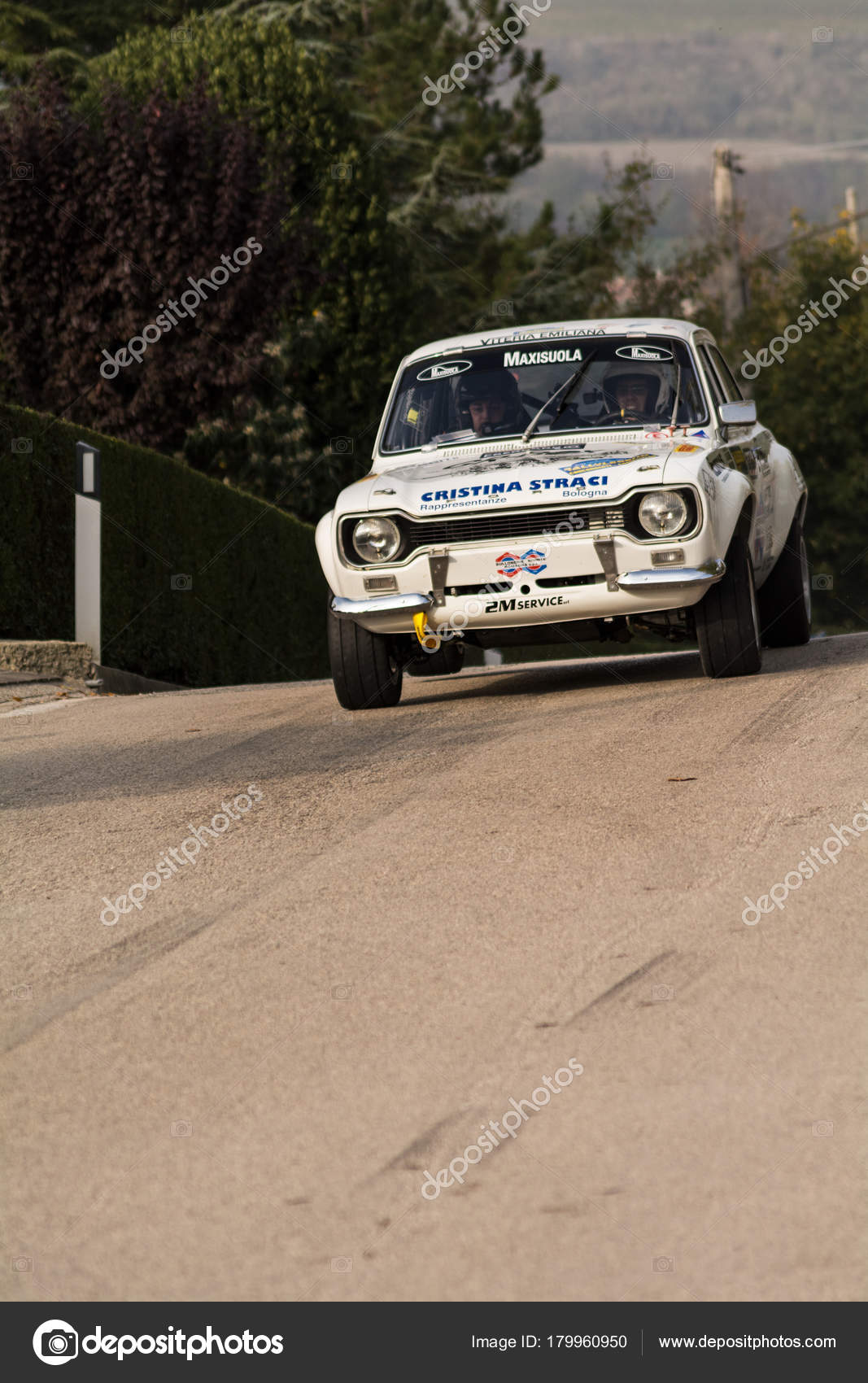 Ford Escort 1979 Old Racing Car Rally Legend 2017 Famous – Stock ...