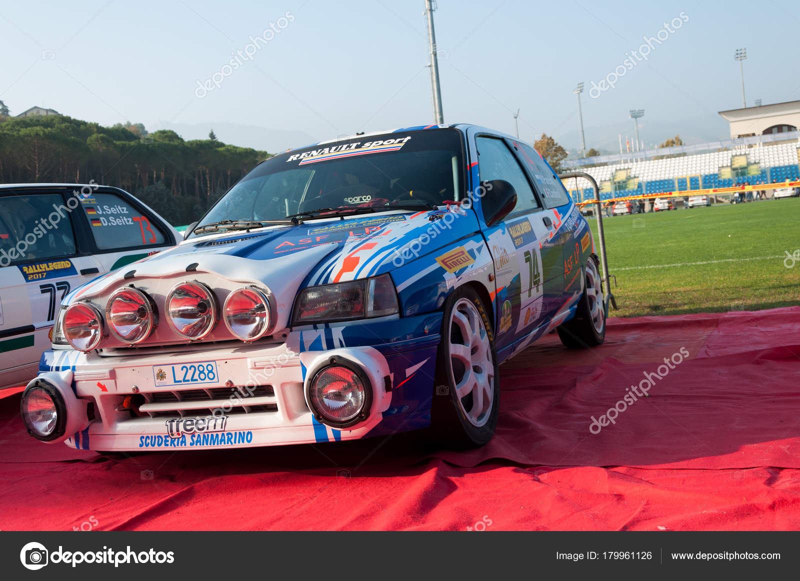 Renault Clio Williams 1998 Old Racing Car Rally Legend 2017 ...