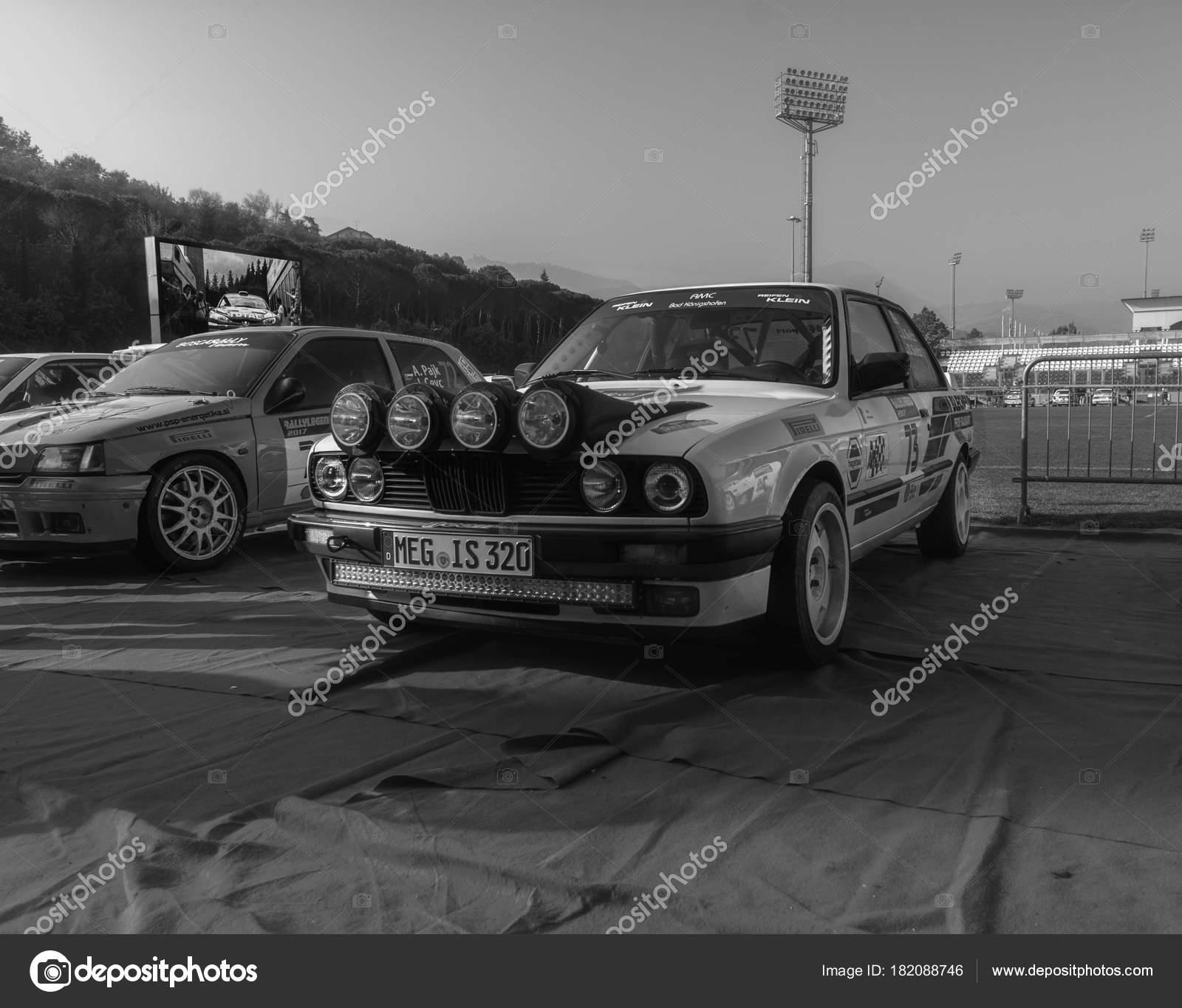 Sanmarino Sanmarino Ott 2017 Bmw E30 1989 Old Racing Car – Stock ...