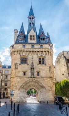 East side of Gate Cailhau - Porte Cailhau in Bordeaux - France
