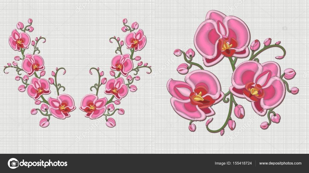 Vectores: descarga de diseño de flores | diseño de flores escote ...