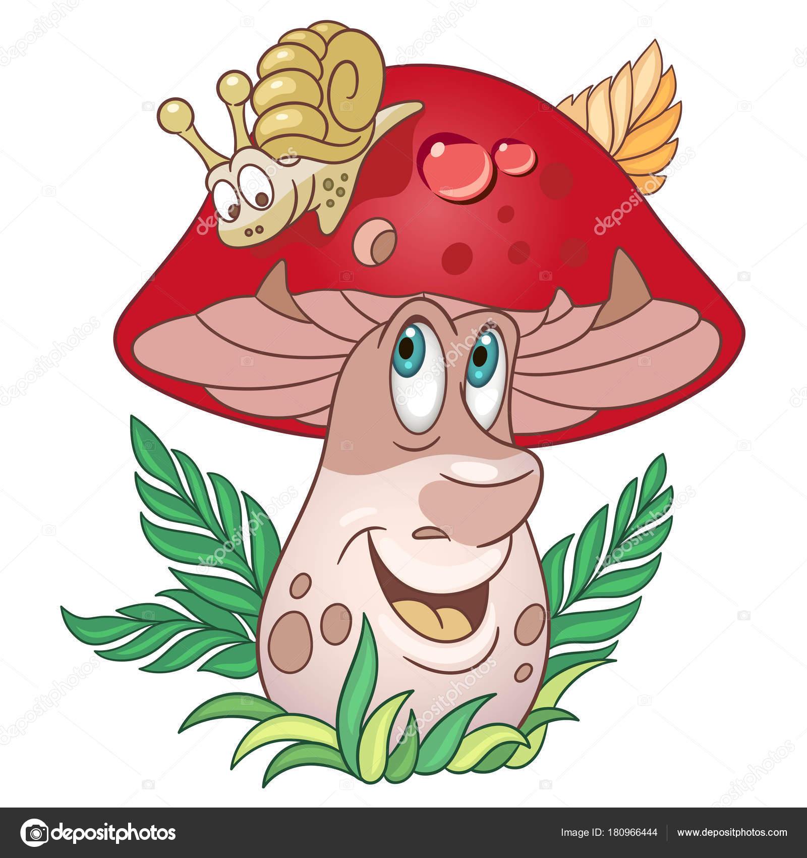 Kreslen houby porcini h bky stock vektor sybirko for Fungo da colorare per bambini