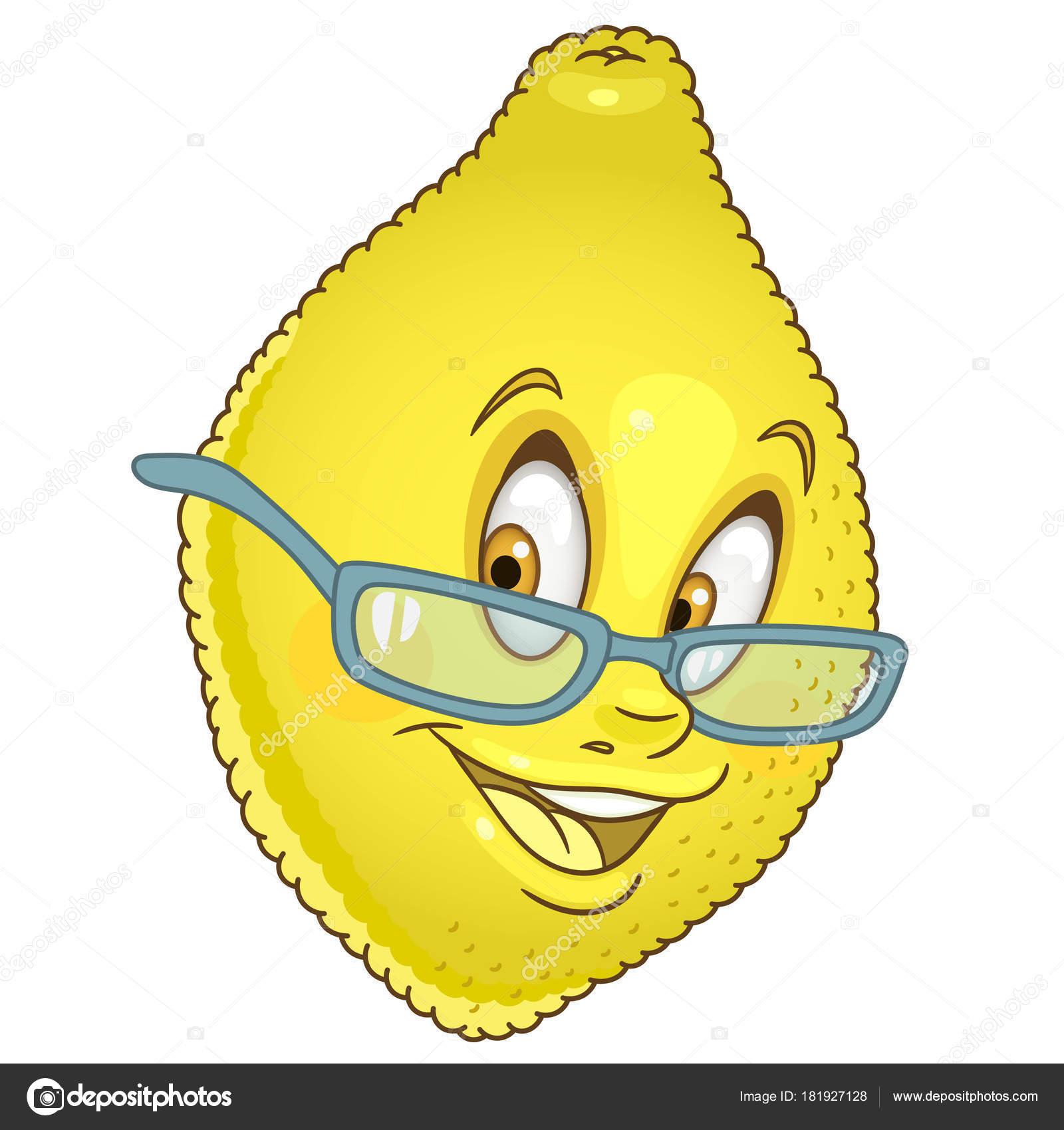 Icono de dibujos animados de limón — Archivo Imágenes Vectoriales ...