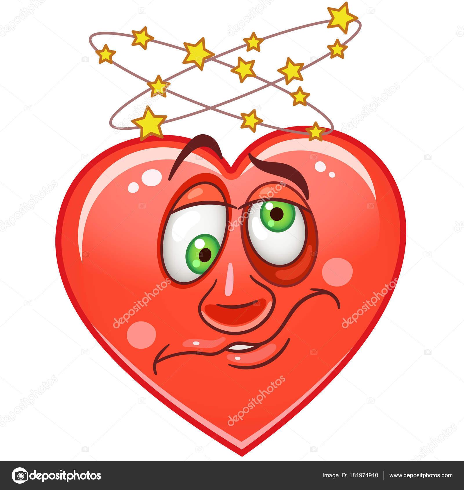 Corazón Emoticons Smiley Emoji — Archivo Imágenes Vectoriales ...
