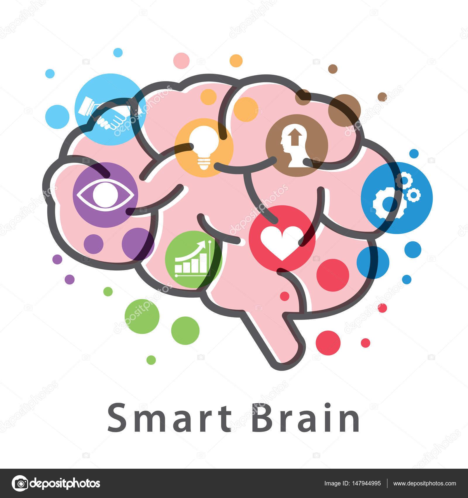 Smart brain symbol icon design stock vector pornthep 147944995 smart brain symbol icon design stock vector biocorpaavc Images