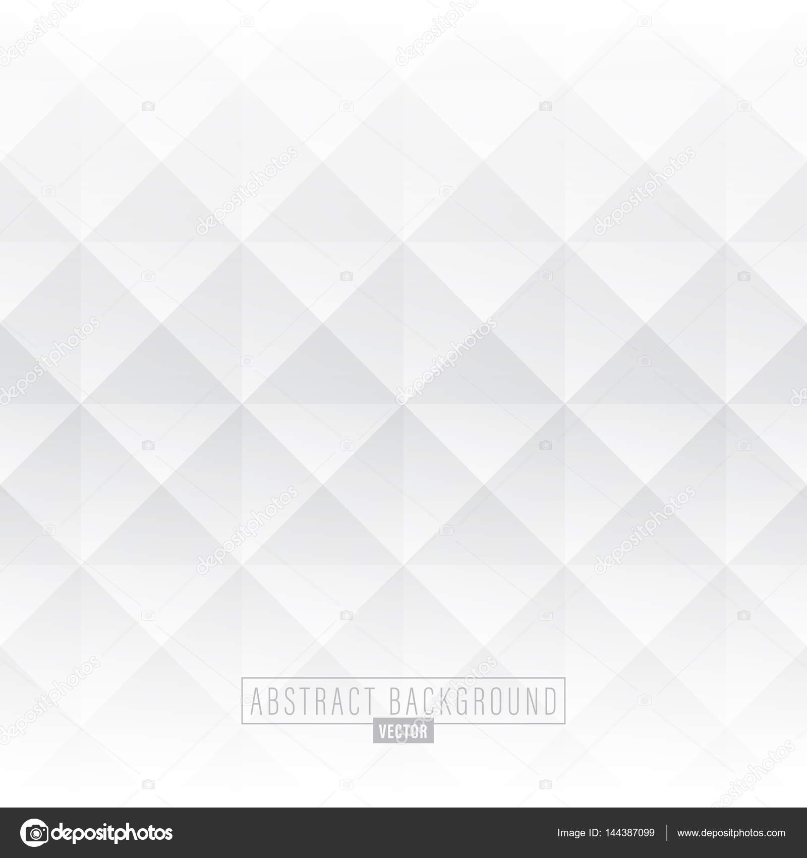 White abstract diamond background — Stock Vector © kraphix #144387099