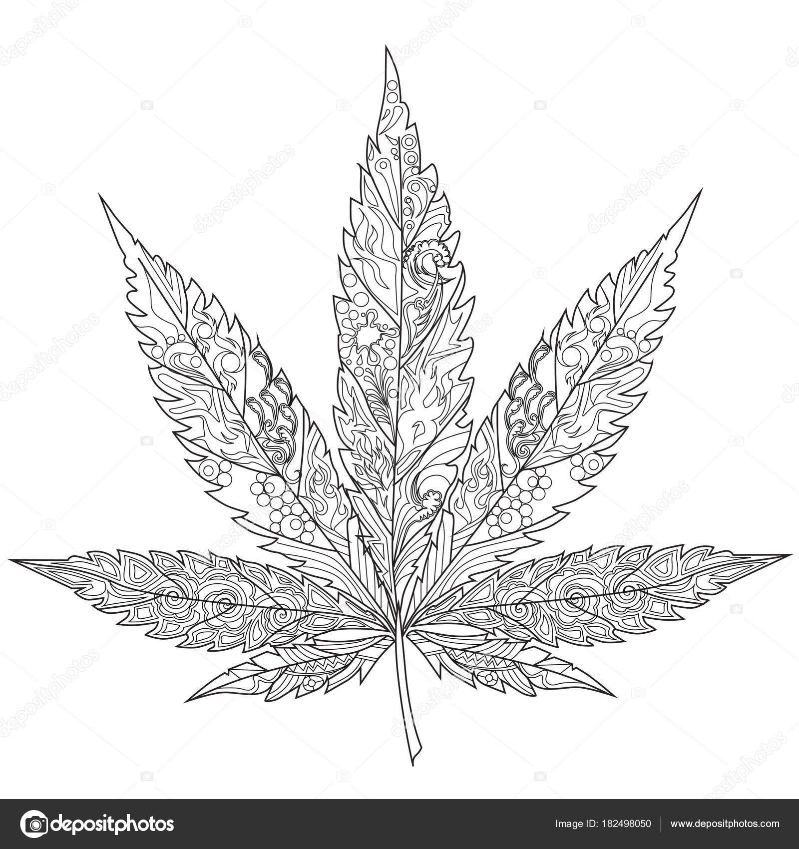 Fotos Marihuana Para Colorear Cannabis Terapia Del Arte