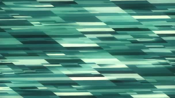 HD Abstract blue rectangles background 2D animztion. MOV
