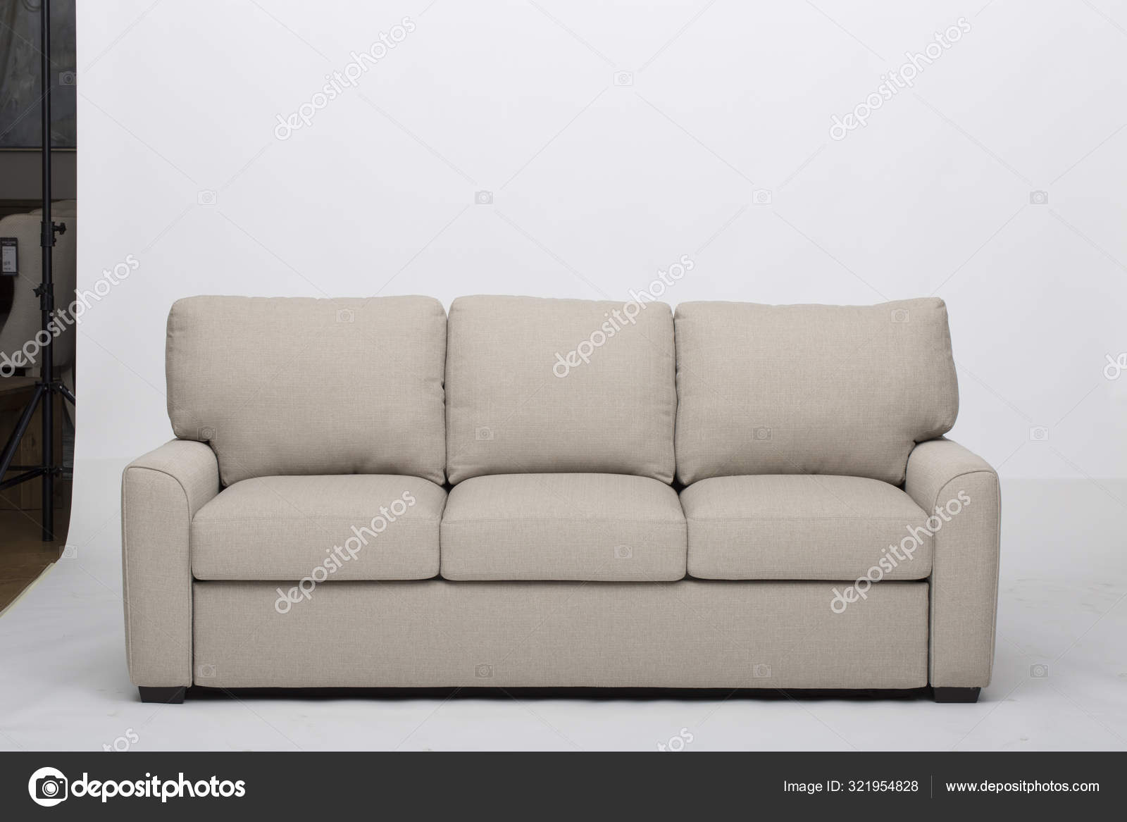 Picture of: Convertible Sofa Bed White Flex Loveseat Chaise Sectional Sleeper Flex Full Size Loveseat Chaise Sleeper Luonto Furniture Stock Photo C Jassdhiman 321954828