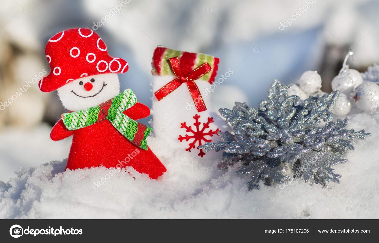 bonhomme neige noël carte fille flocon neige argenté chaussette noël