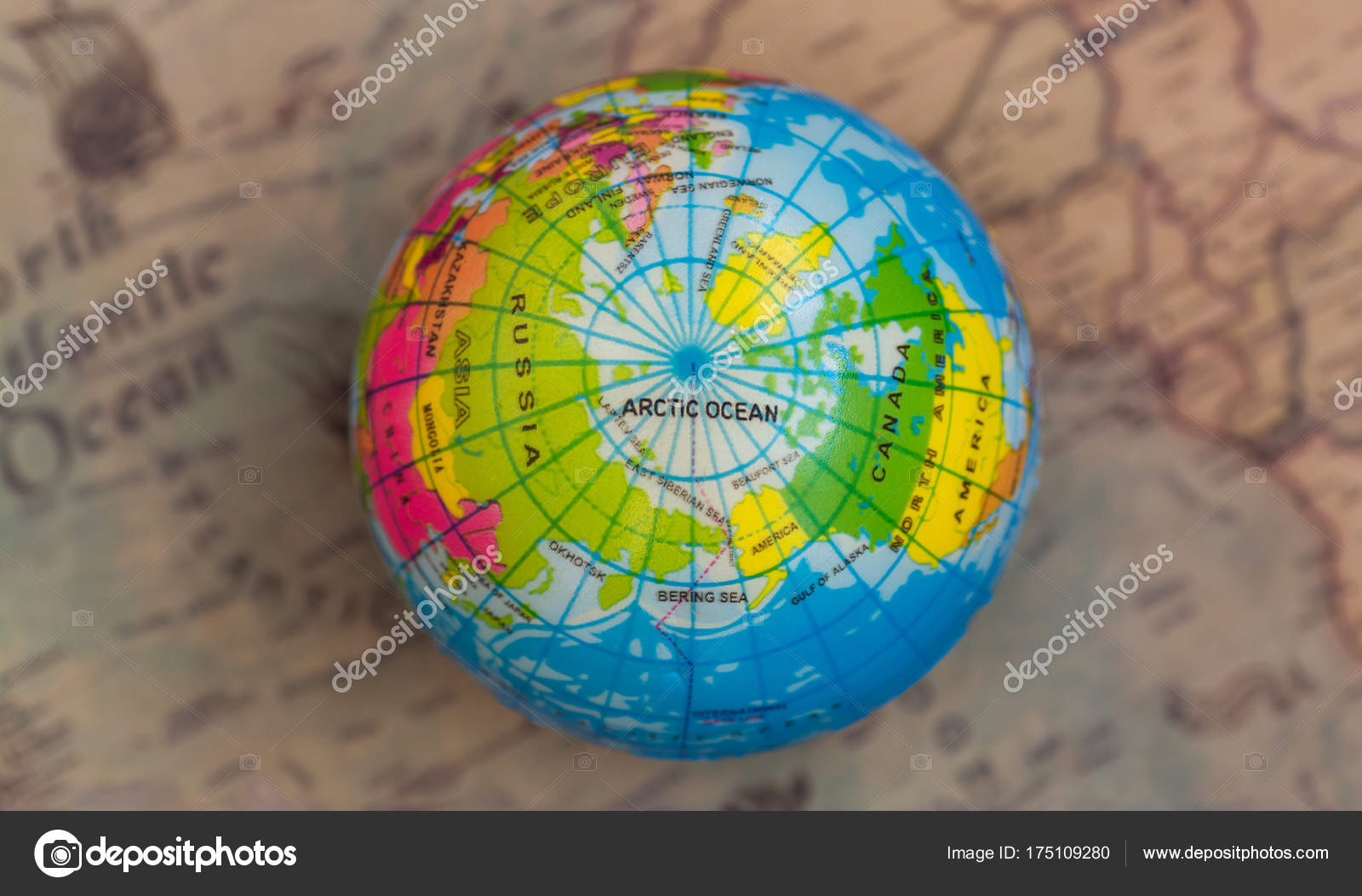 Multicolored globe background world map top view stock photo multicolored globe background world map top view stock photo gumiabroncs Images