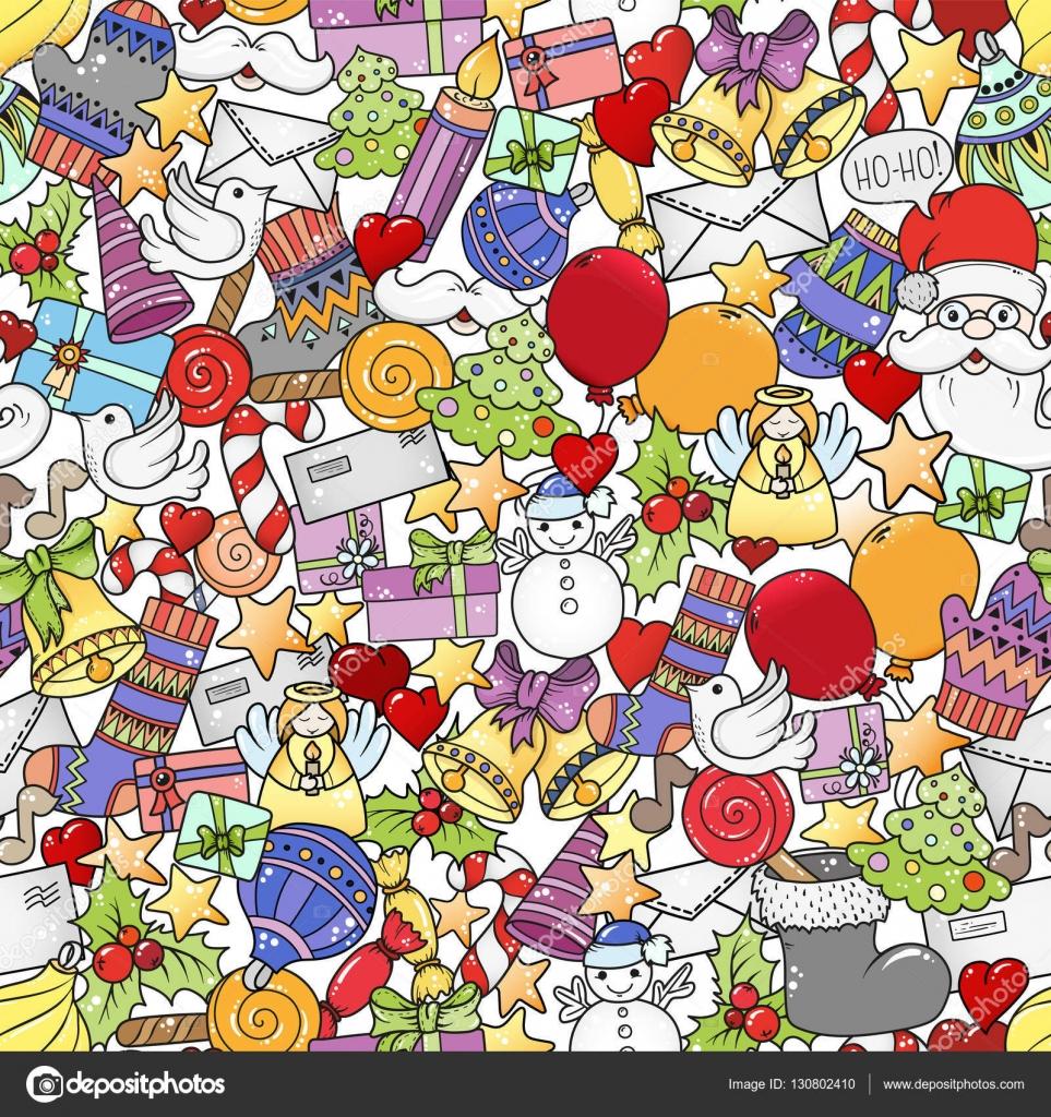 Красочные поздравительные открытки. Счастливого Рождества ...