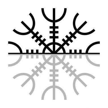 Norse Symbol. Aegishjalmur