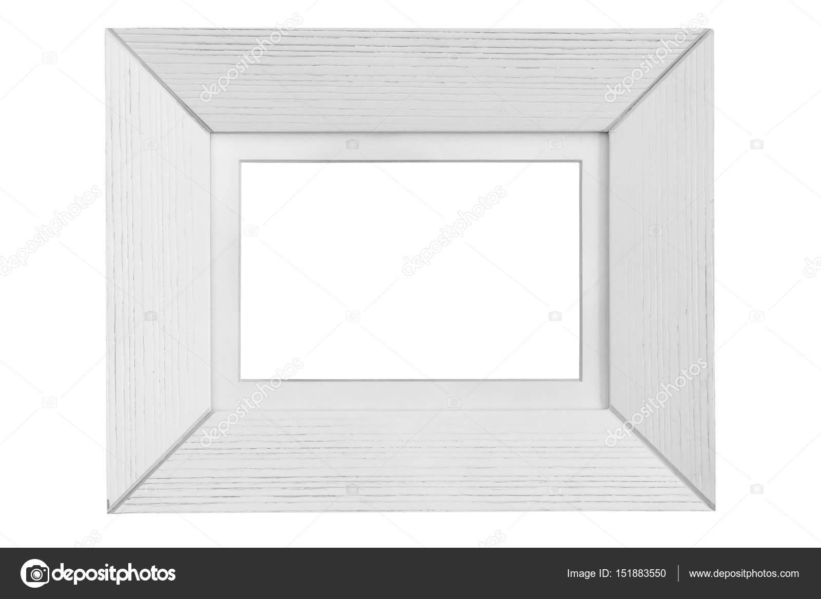marco blanco de madera — Foto de stock © mkos83 #151883550