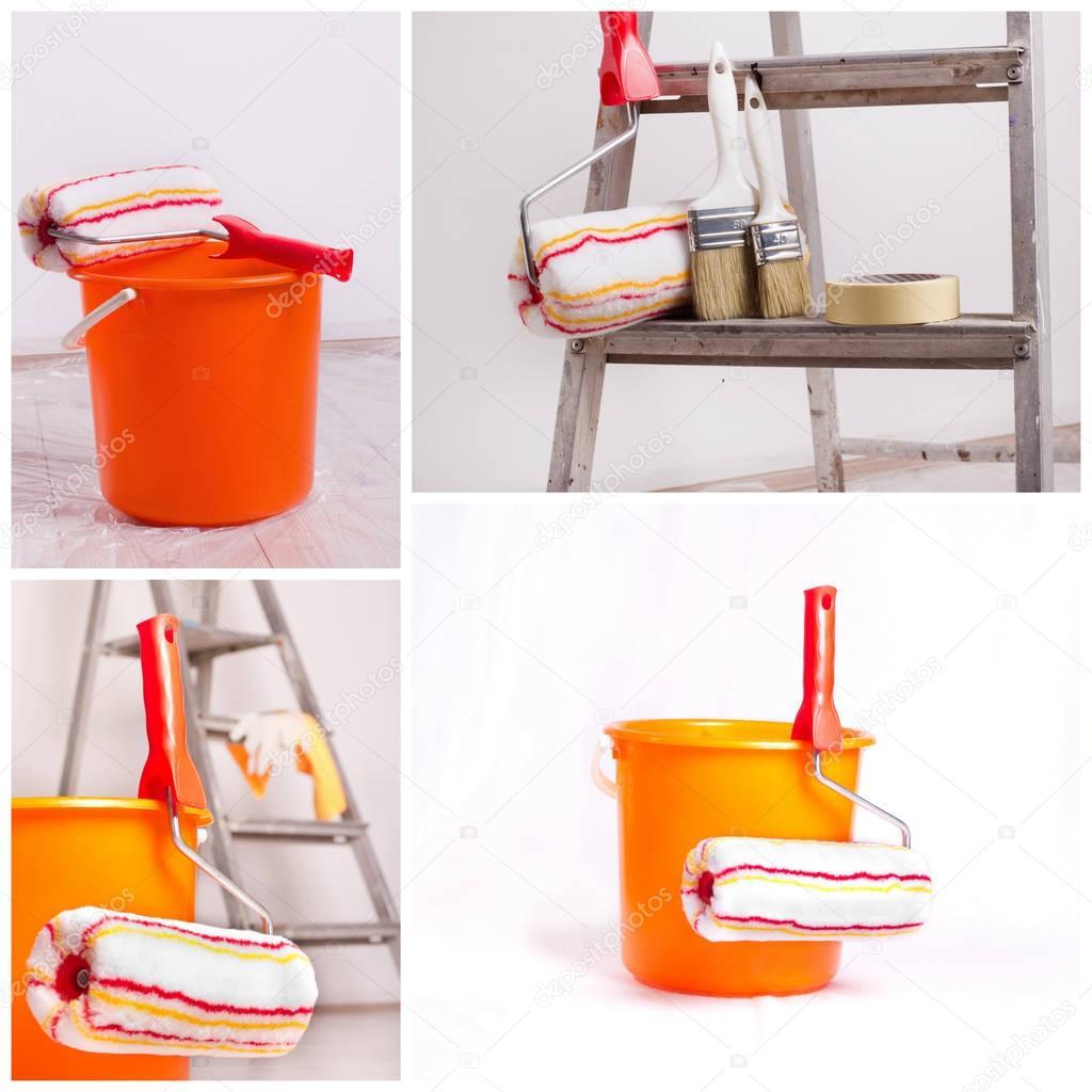 Wall Painting Equipment Stock Photo C Budabar 130493230