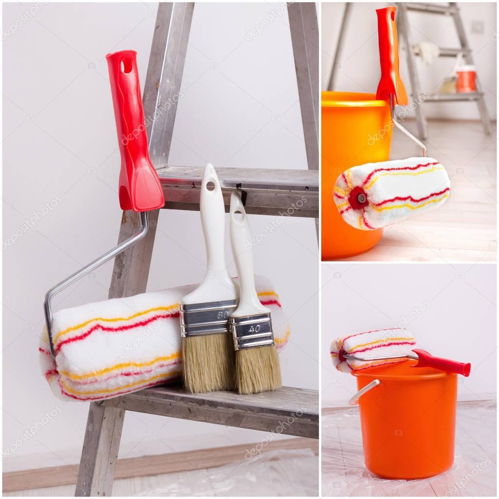 Wall Painting Equipment Stock Photo C Budabar 130493290