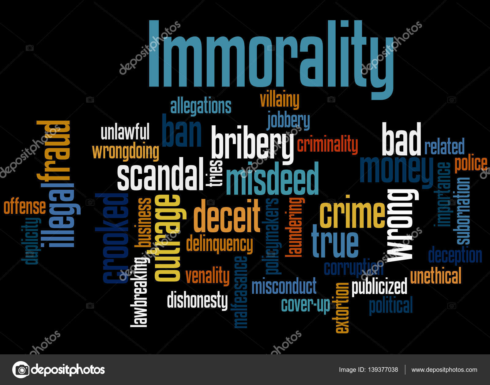 Image result for immorality