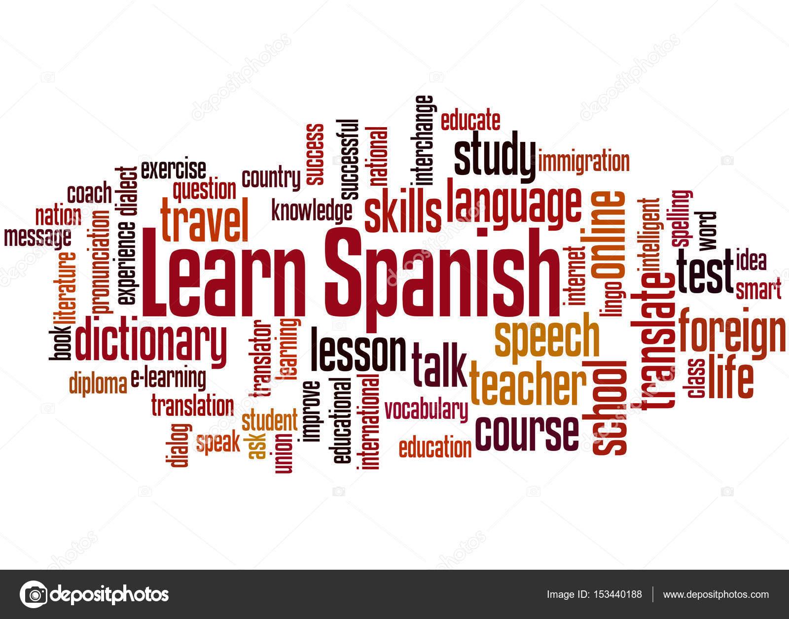 how to speak spanish words