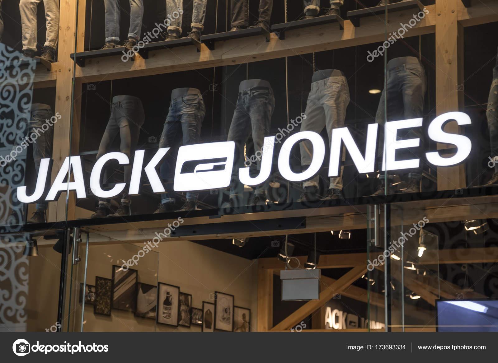 promo code ba83d 80a9f Jack Jones Store außen — Redaktionelles Stockfoto ...