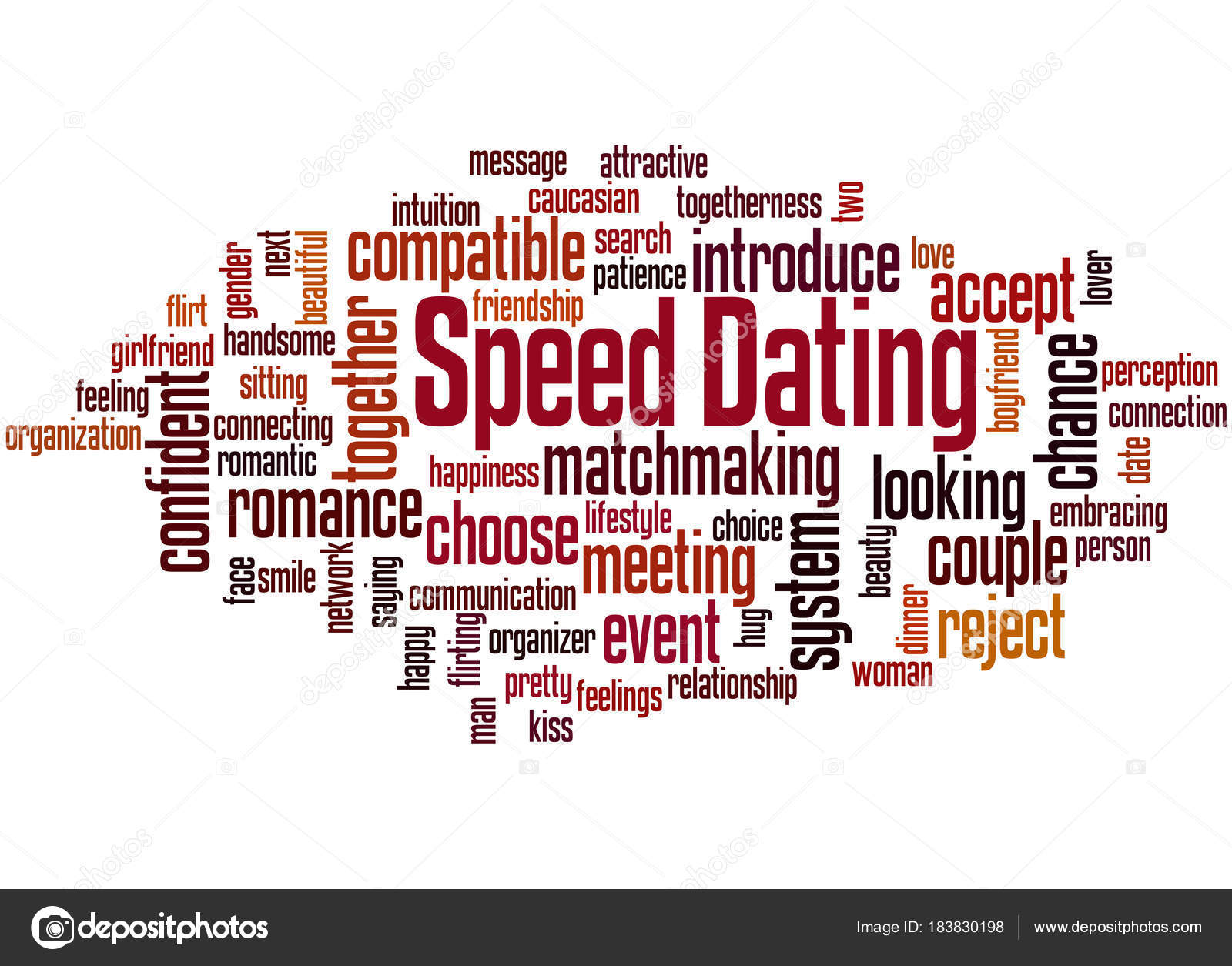 speed dating word