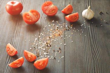 Juicy ripe tomatoes